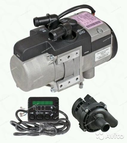Подогреватель двигателя Бинар 5S  (бензин/дизель — японская свеча)